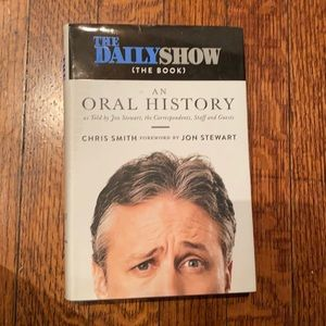 3/15 The Daily Show (the book)